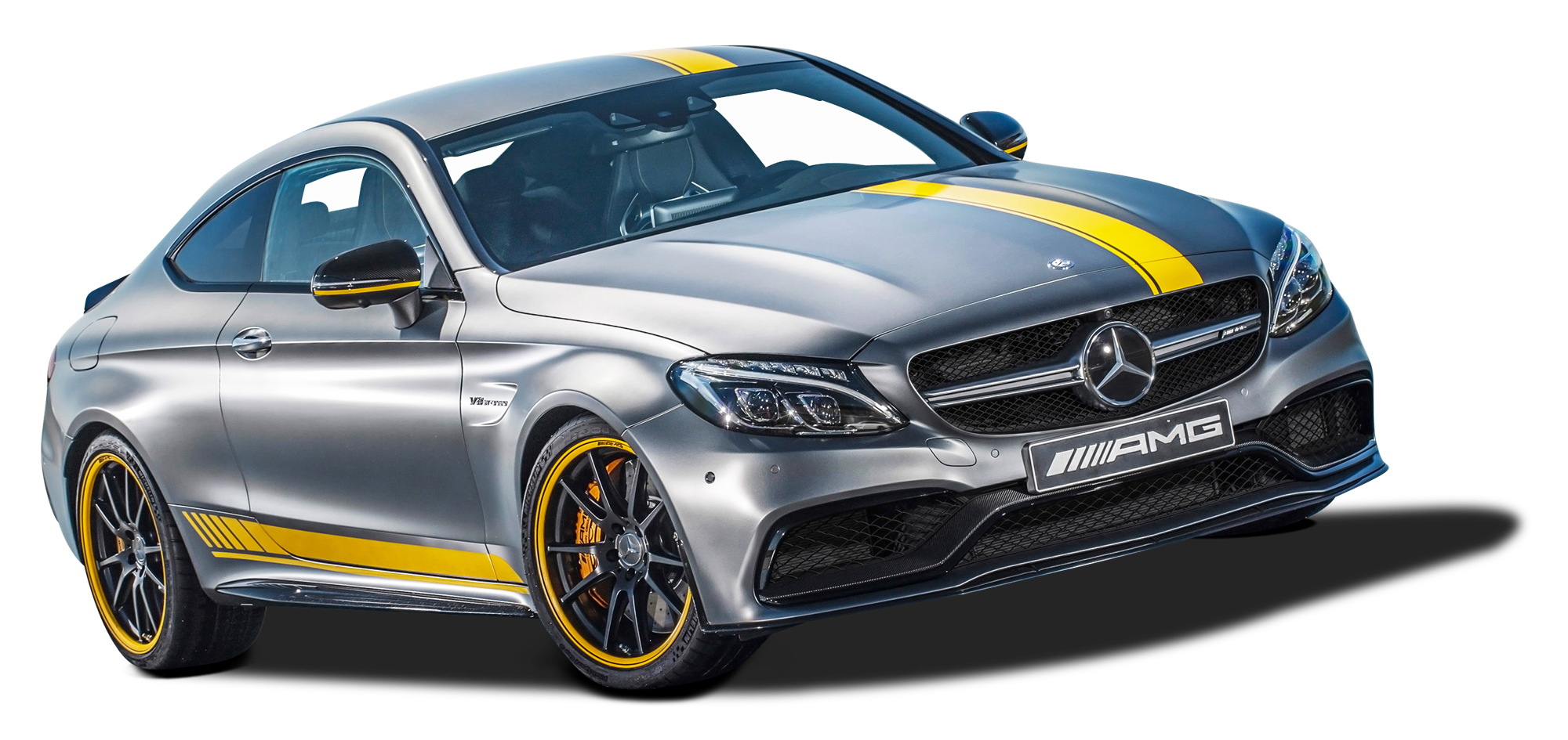 Mercedes AMG C63 Coupe Car PNG Image