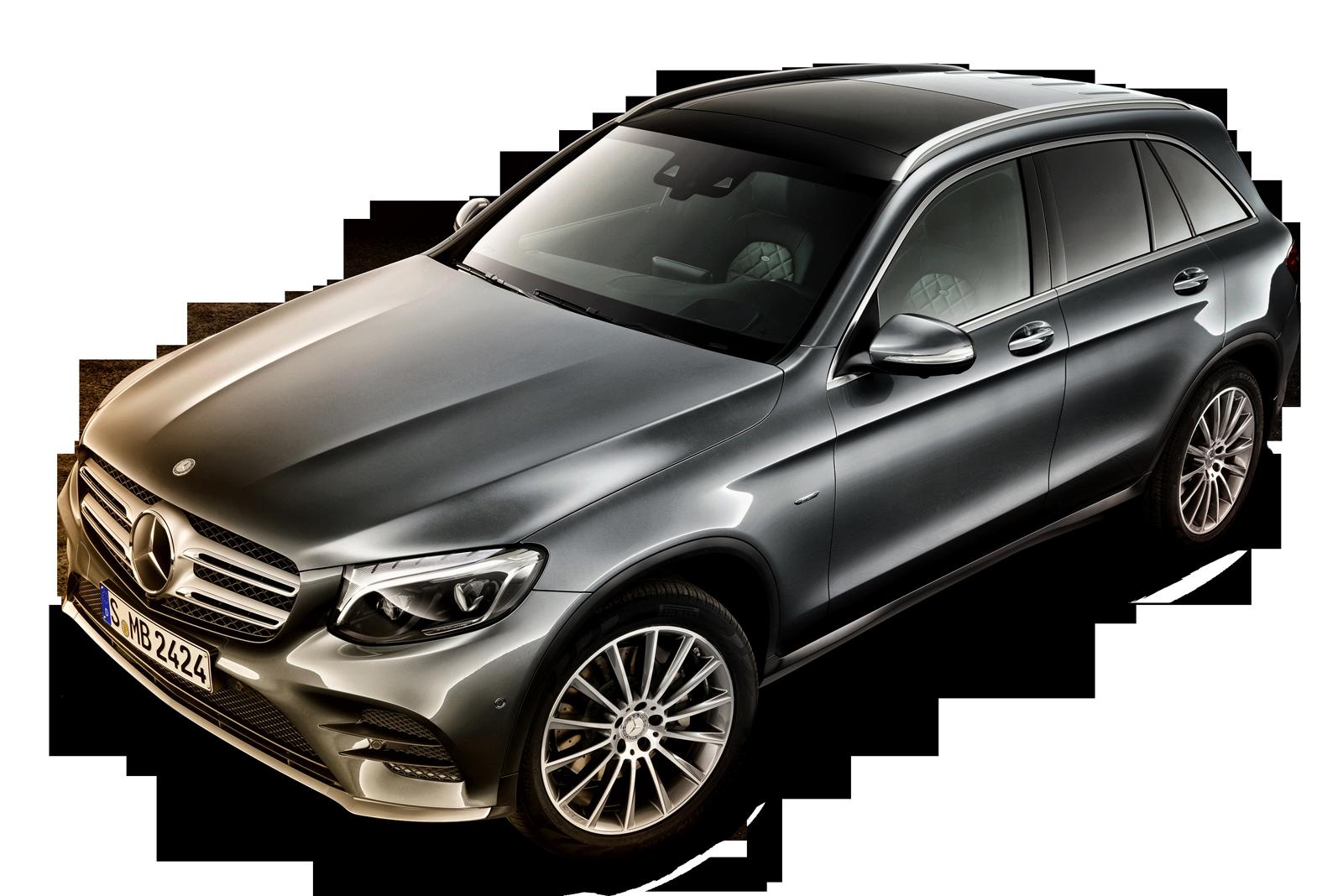Mercedes Benz GLC Gray Car