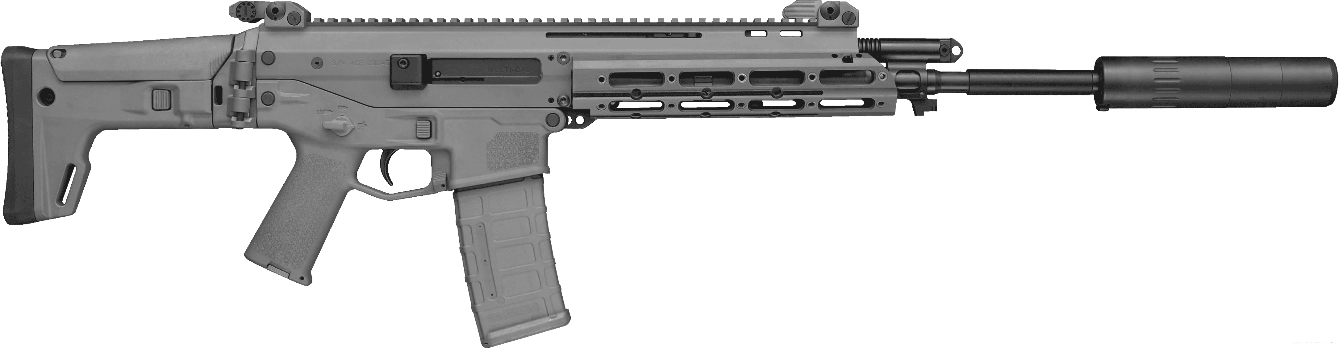 Metal Assault Rifle