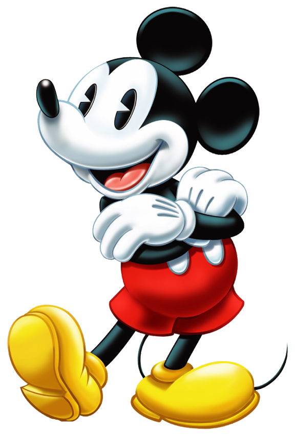 Mickey  Arm Fold PNG Image