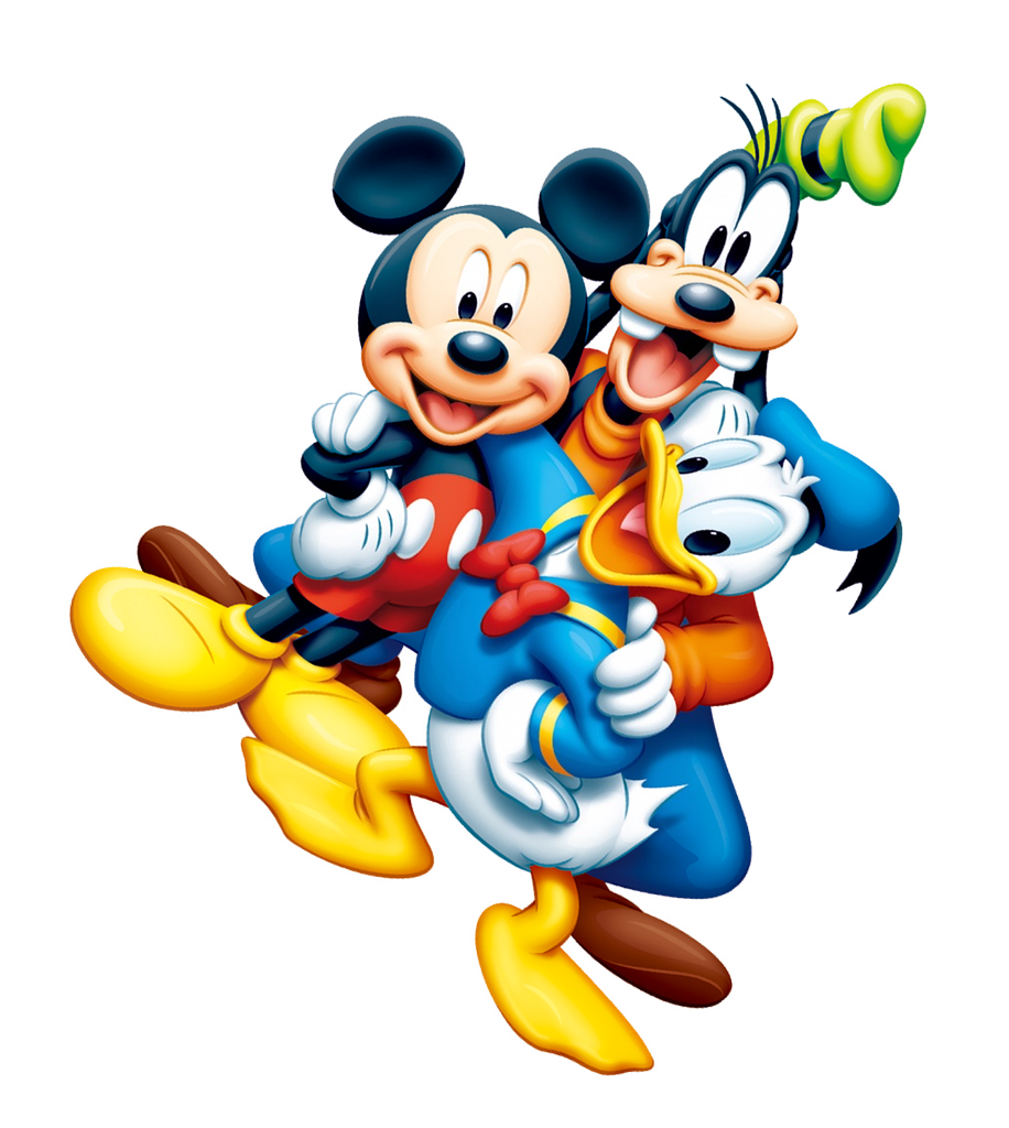Mickey Mouse  & Friends PNG Image