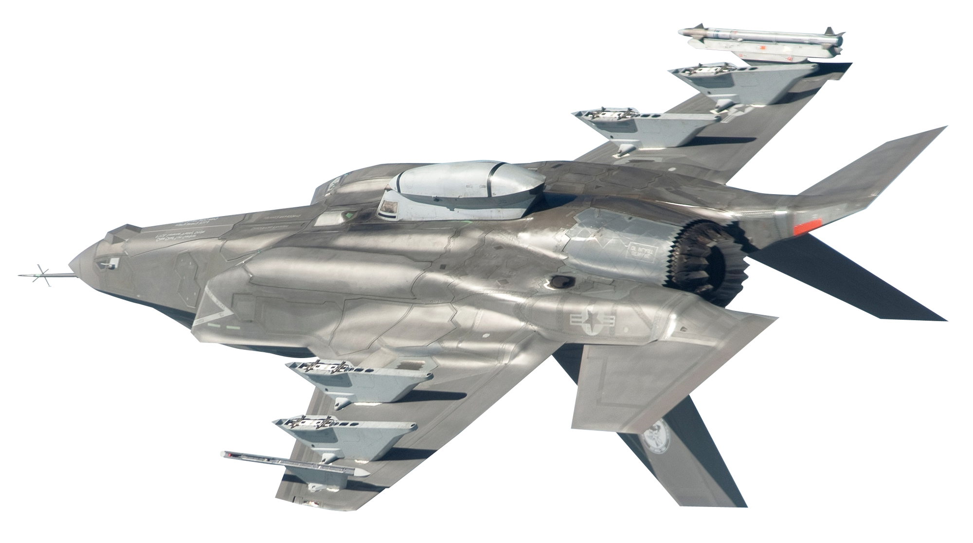 Military Jet PNG Image