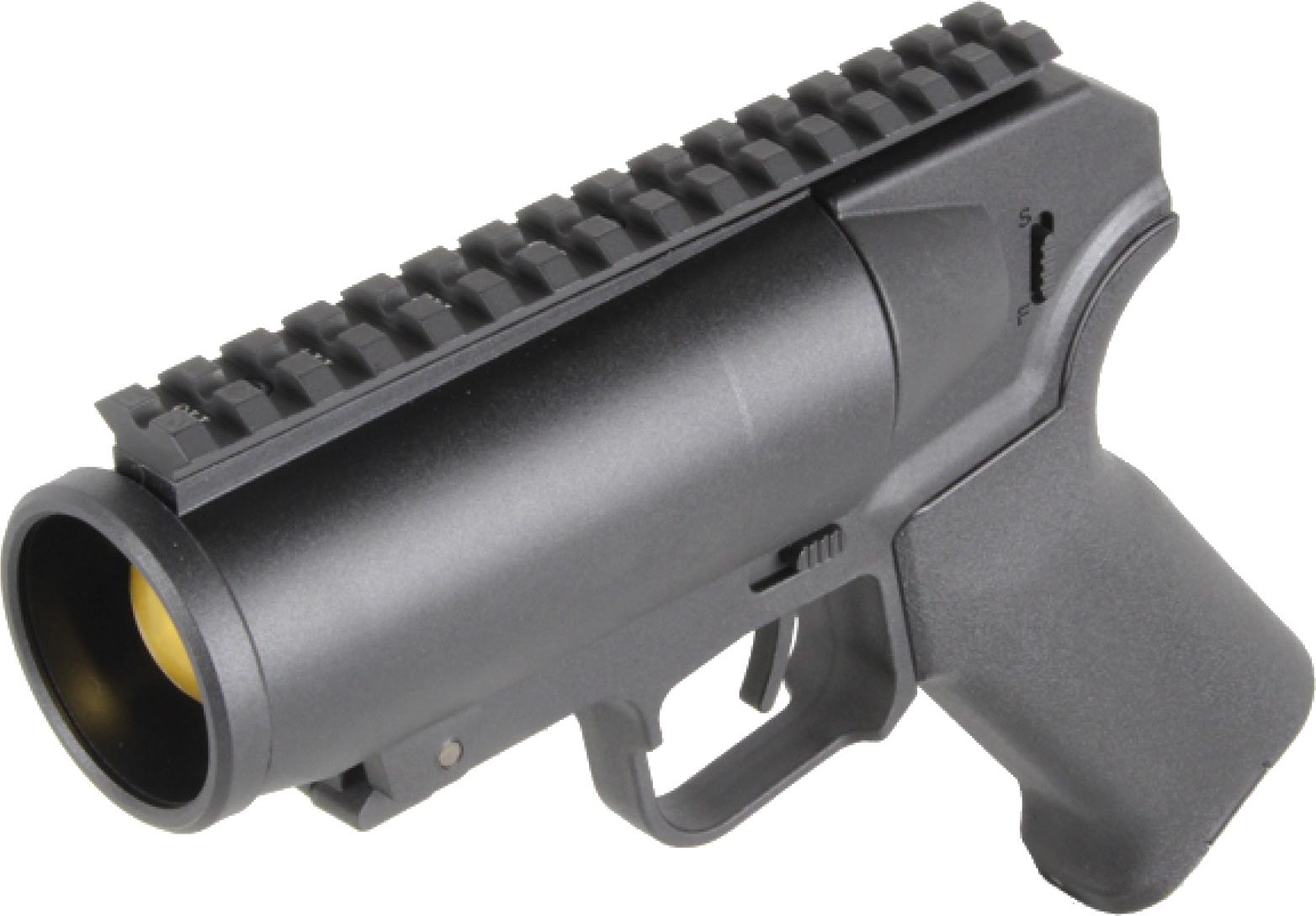 mini grenade launcher PNG Image