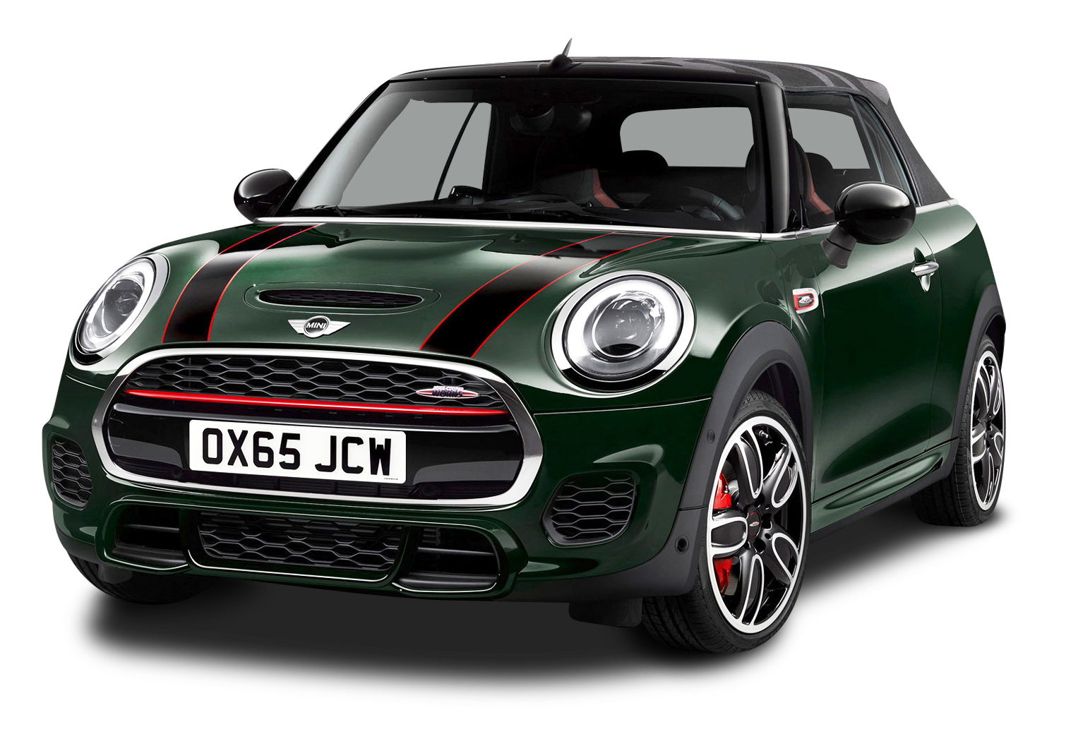 Mini John Cooper Works Green Car