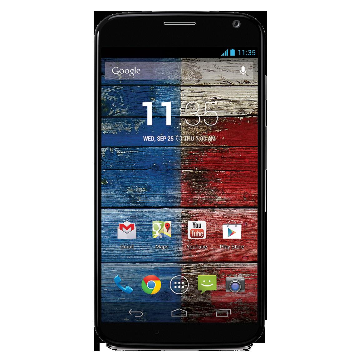 Motorola Moto X Black PNG Image