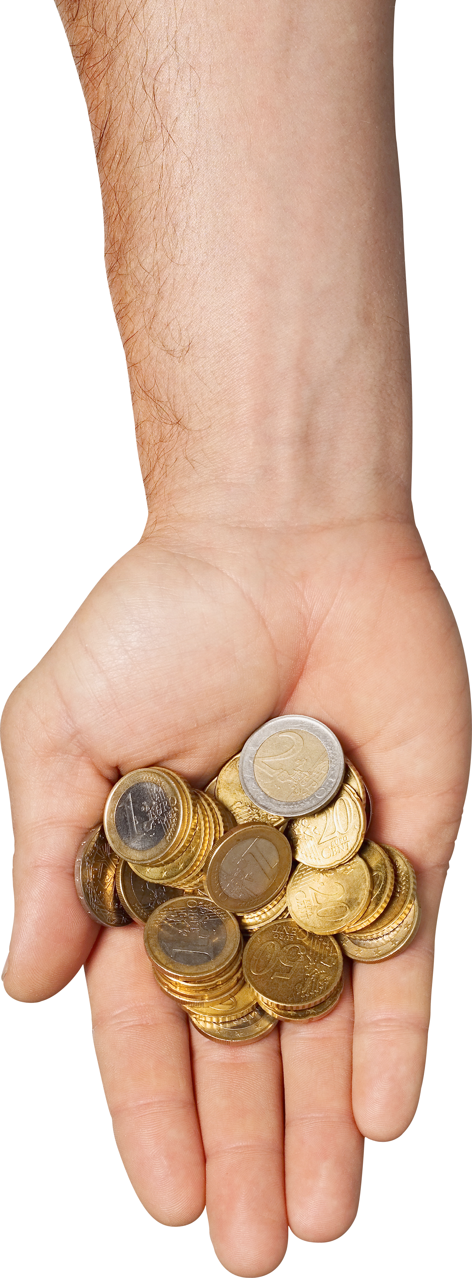 Money On Hand PNG Image