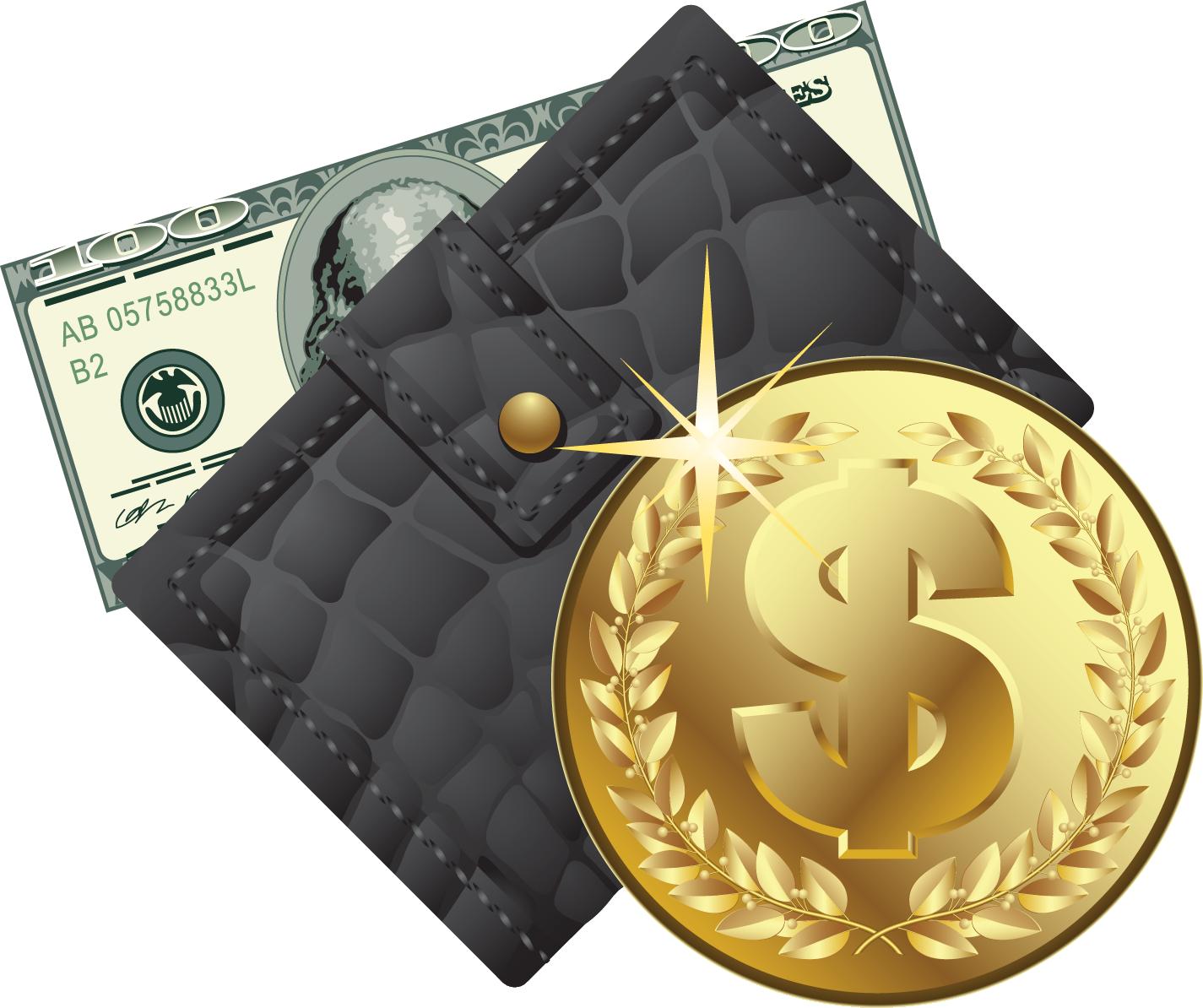 Money's  Purse PNG Image
