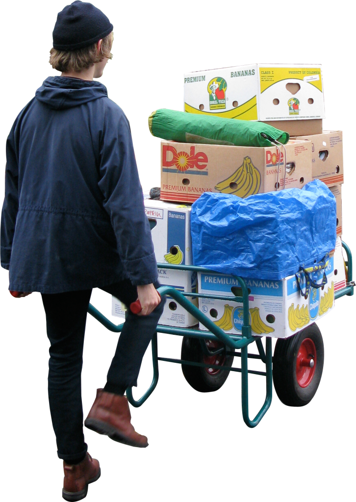Moving Wheelbarrow