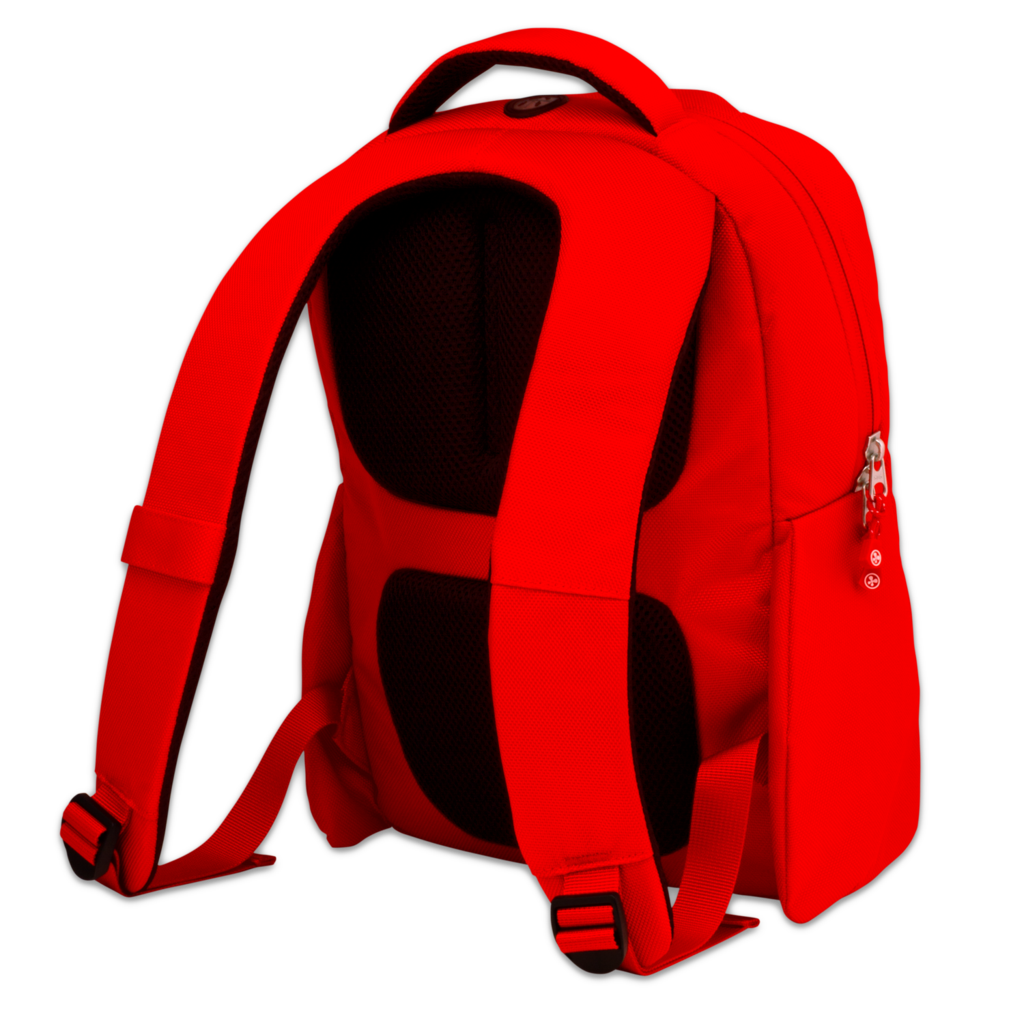 Nabi Backpack Back Angle PNG Image