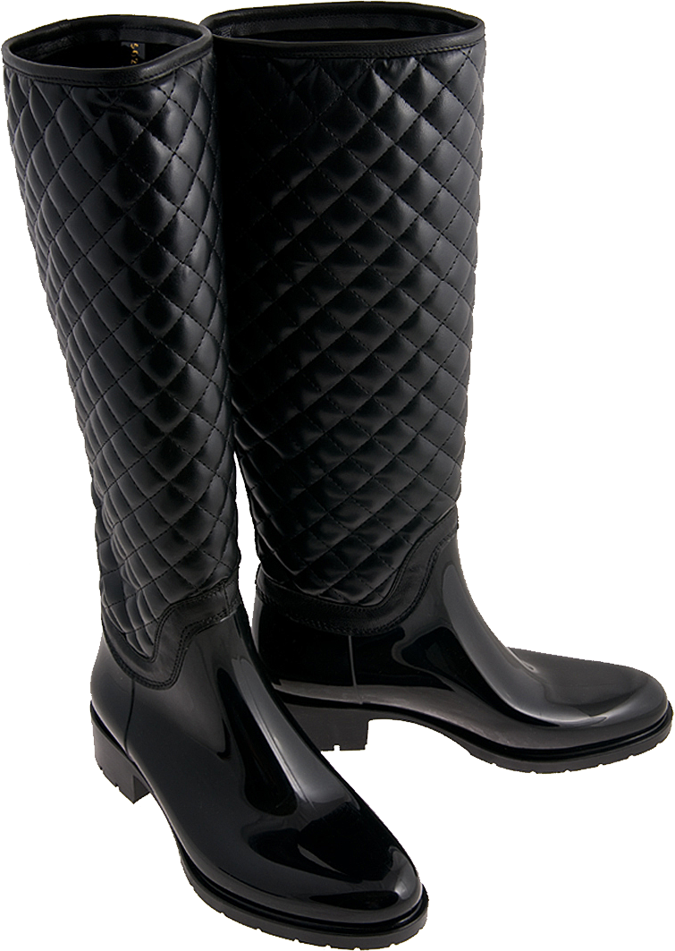 Nice Long Black Boot