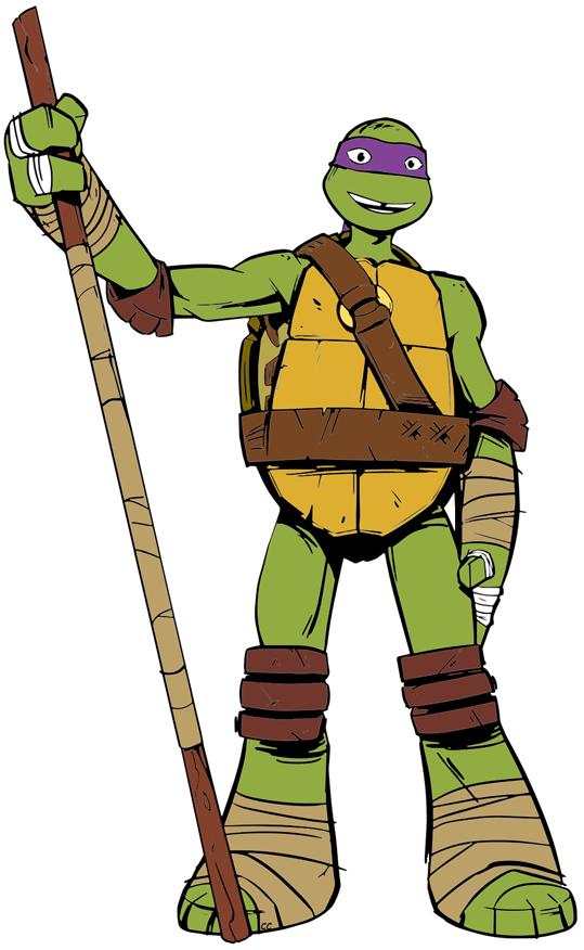 Ninja Tutle Donatello PNG Image