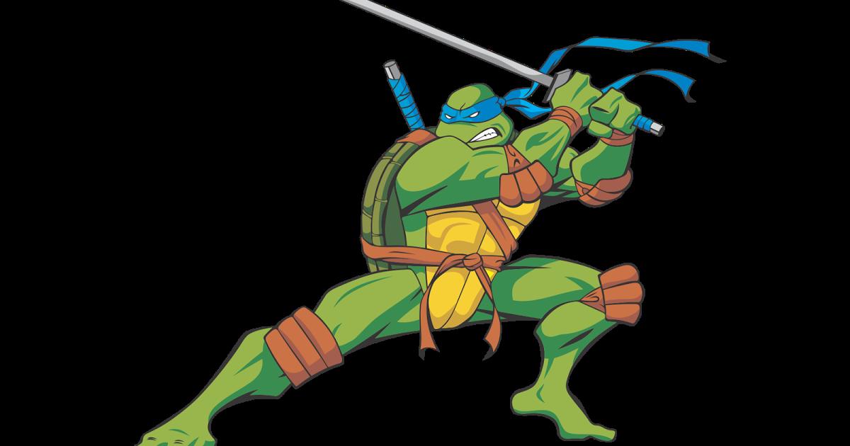 Ninja Tutle Leonardo PNG Image