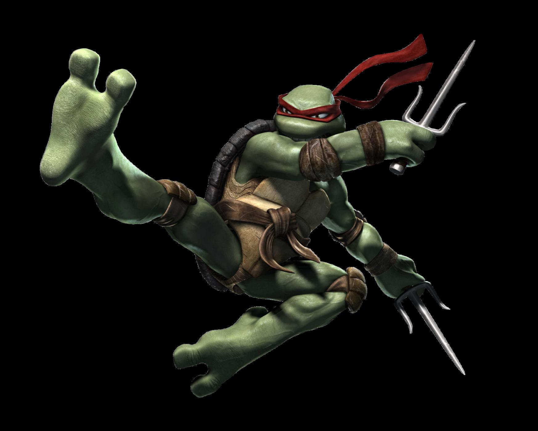 Ninja Tutle Raphael PNG Image