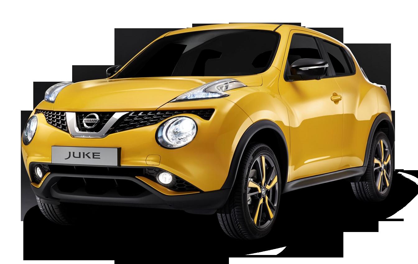 Nissan Juke Yellow Car
