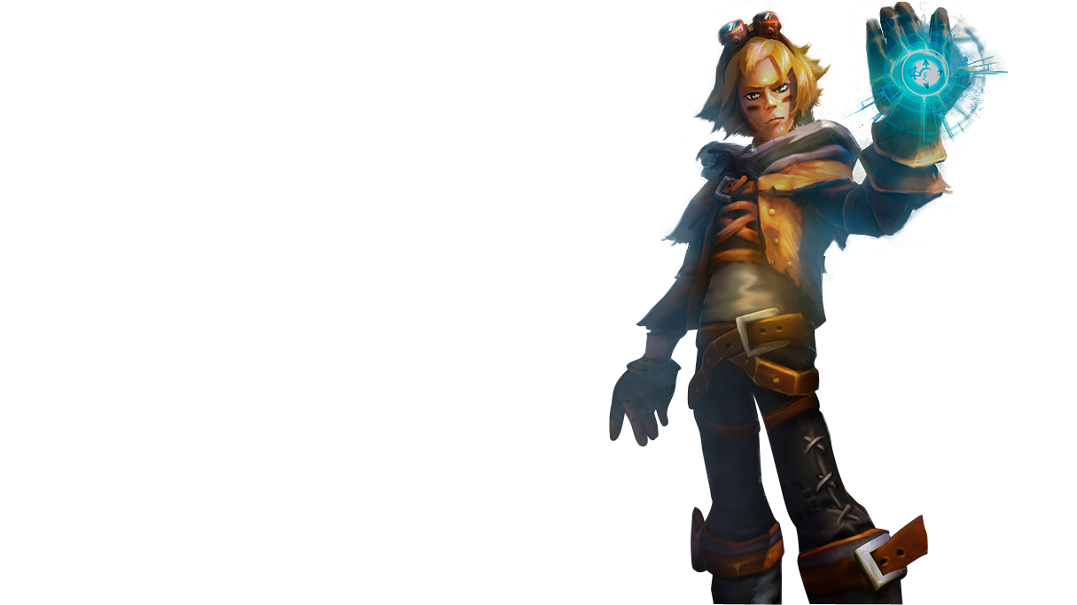 Download Old Classic Ezreal Splashart Png Image For Free