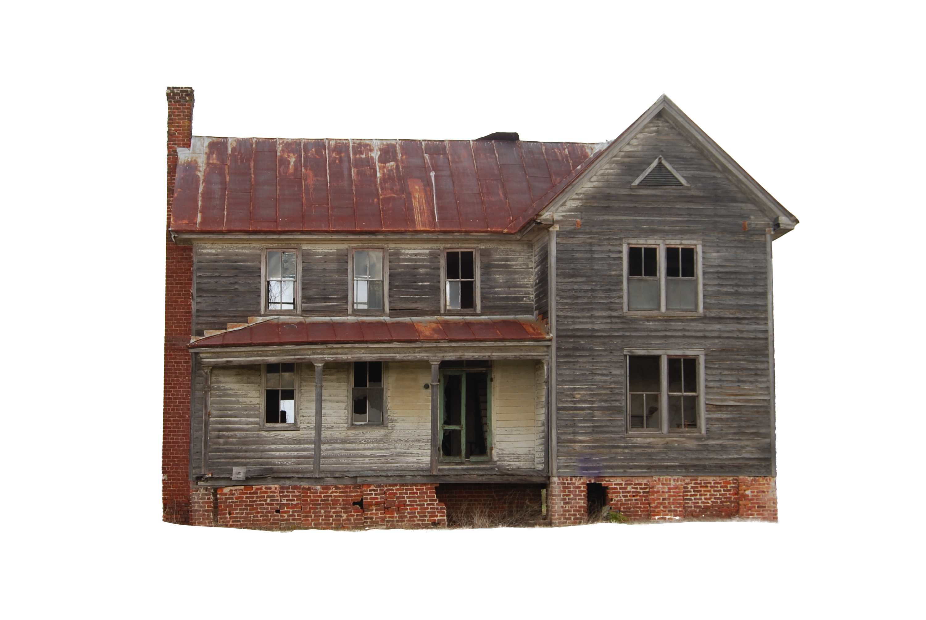 Old left house