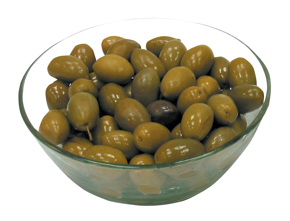 Olive in Bowl PNG Image