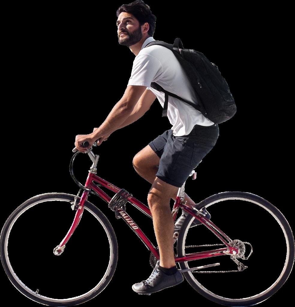 On Bike In Astoria