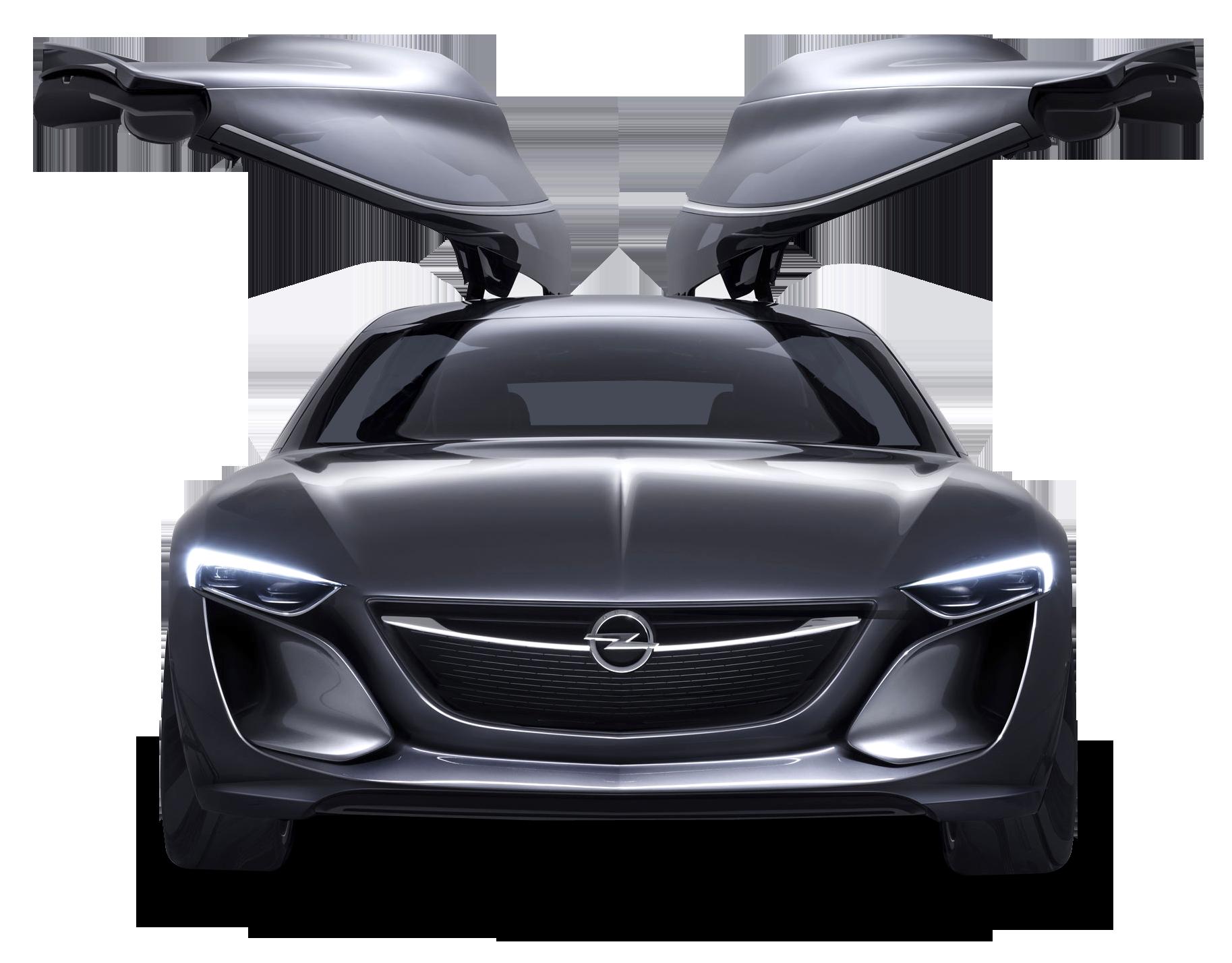 Opel Monza Doors Open Car