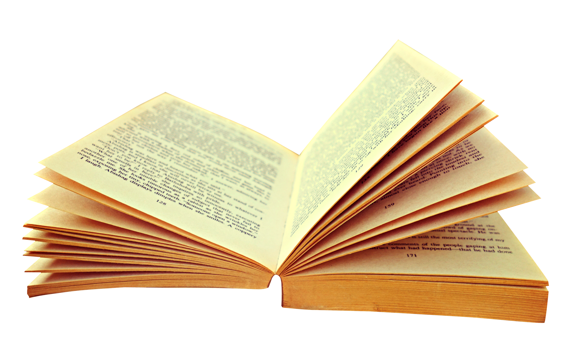 Opened Book PNG Image