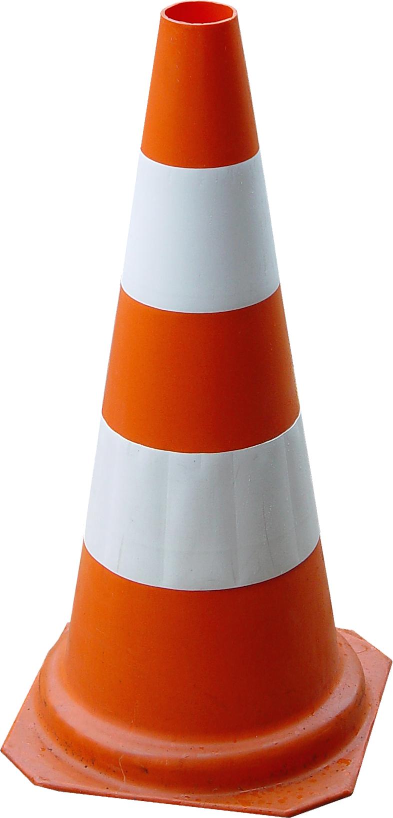 Orange Cone's PNG Image