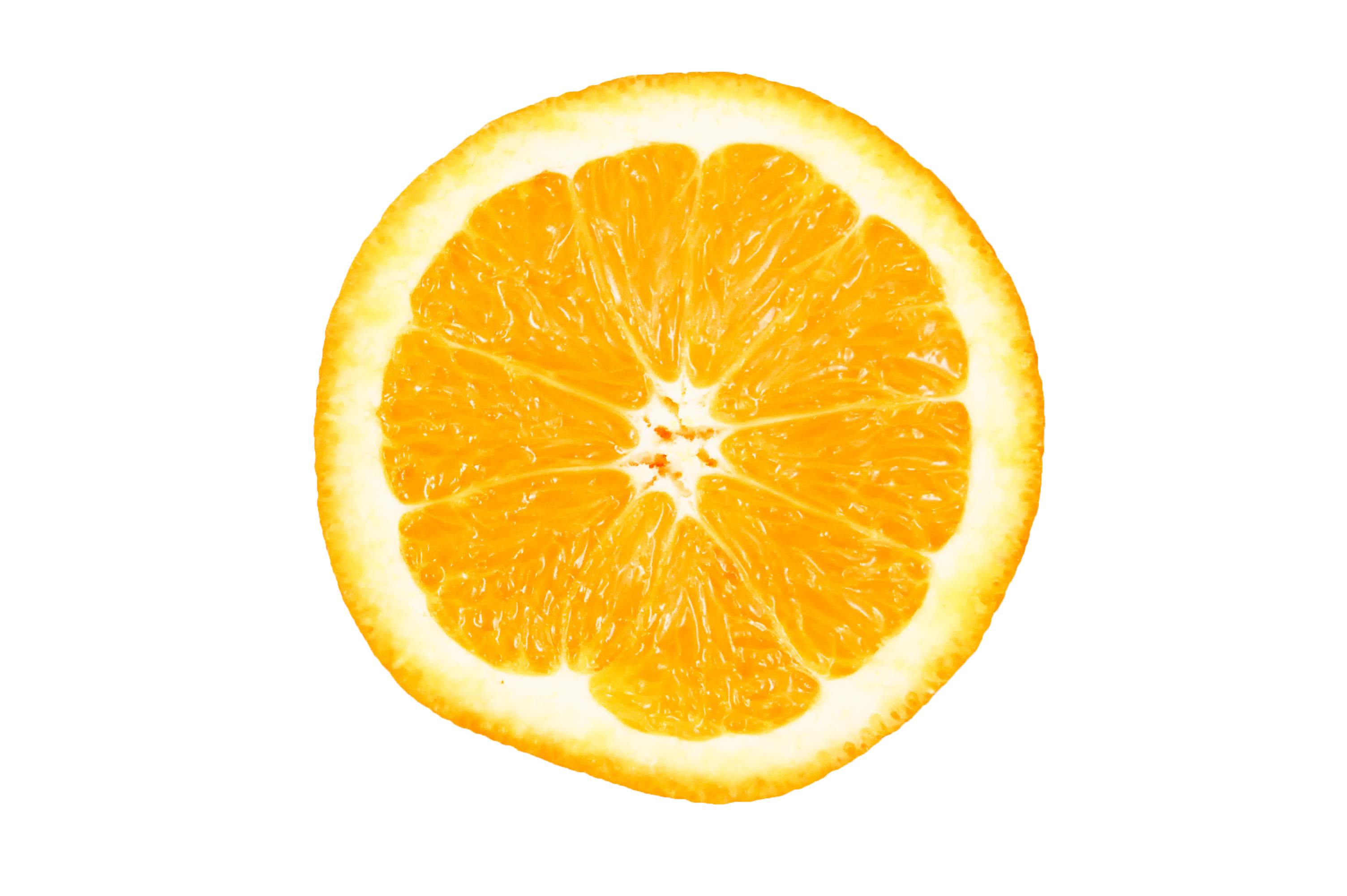 Orange Halved