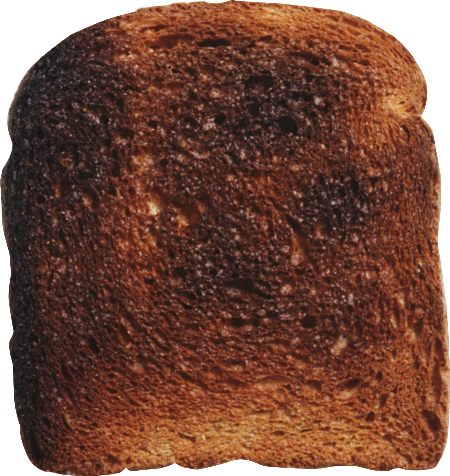 Overdone Toast PNG Image