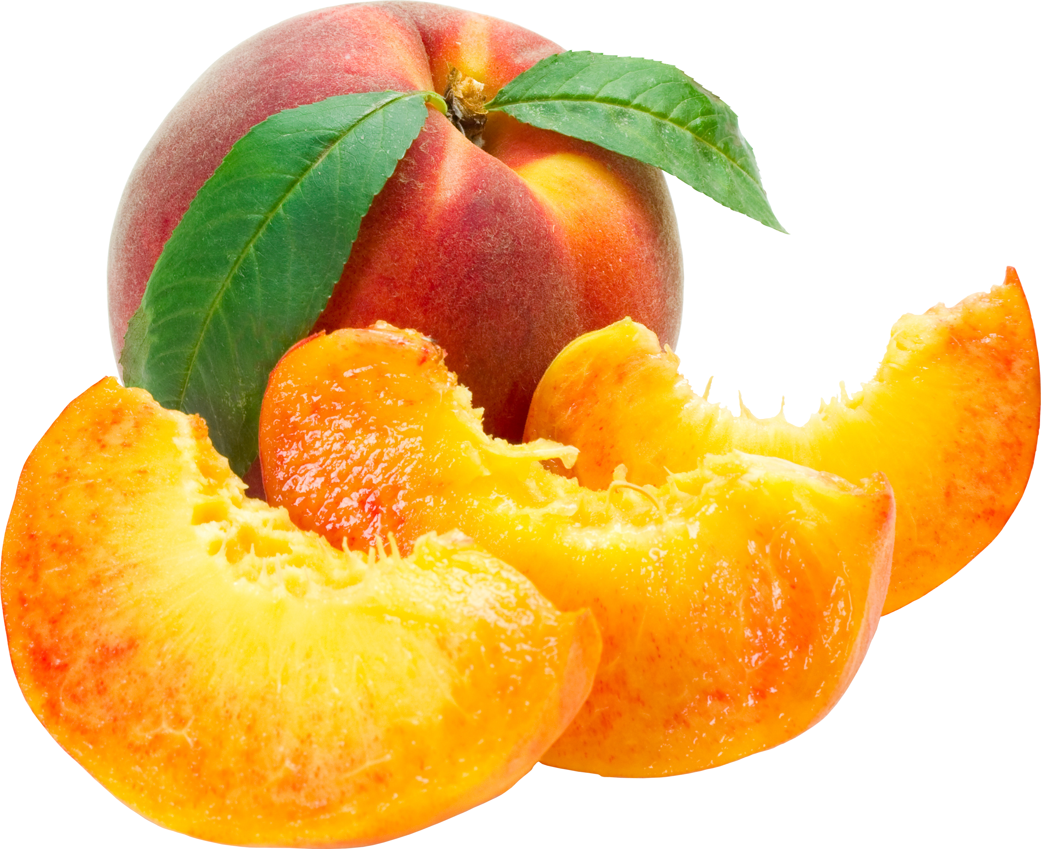 Peach Cut PNG Image