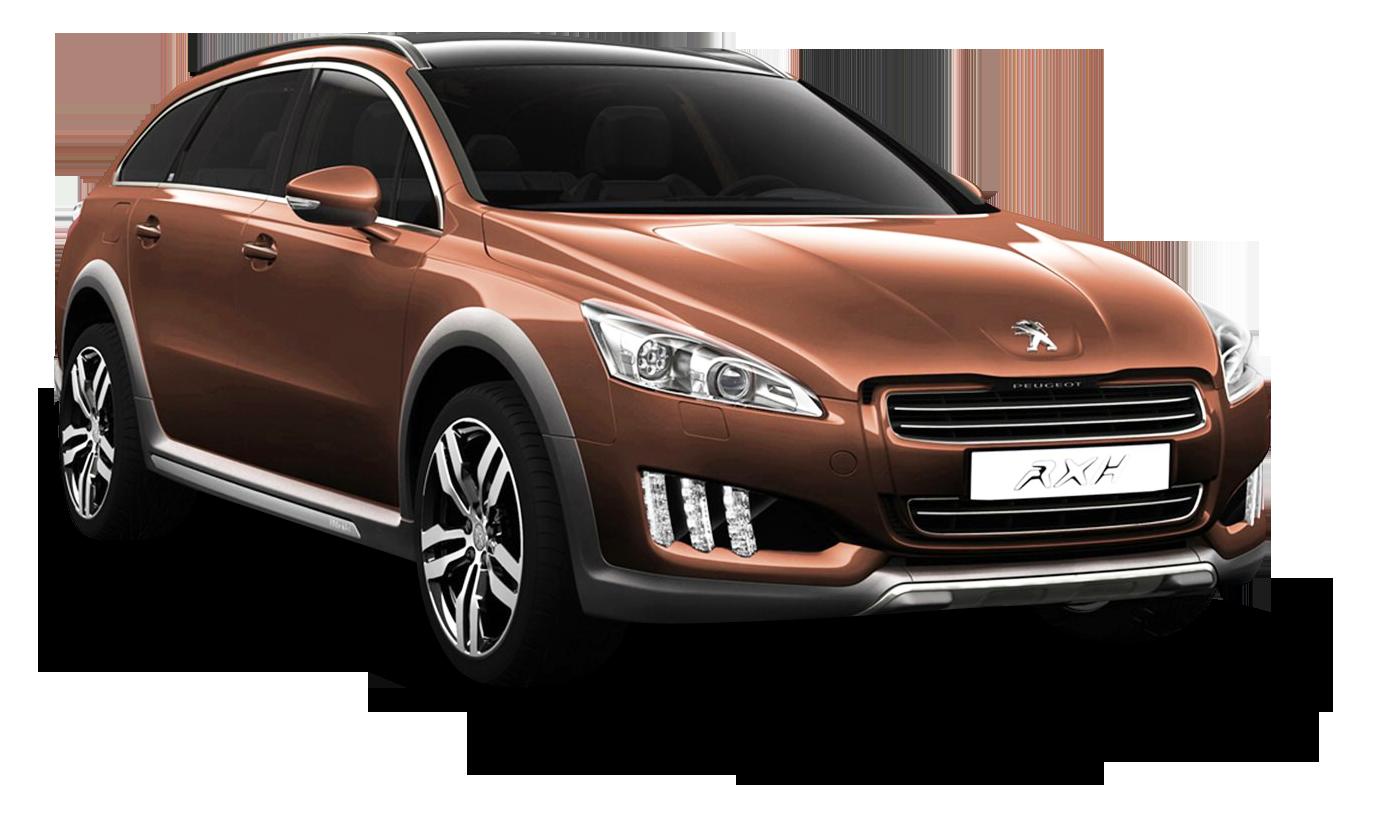 Peugeot 508 RXH Brown Car PNG Image