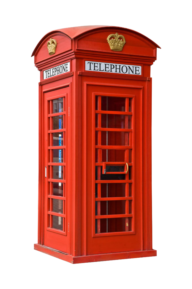 Download Phone Booth PNG Image for Free