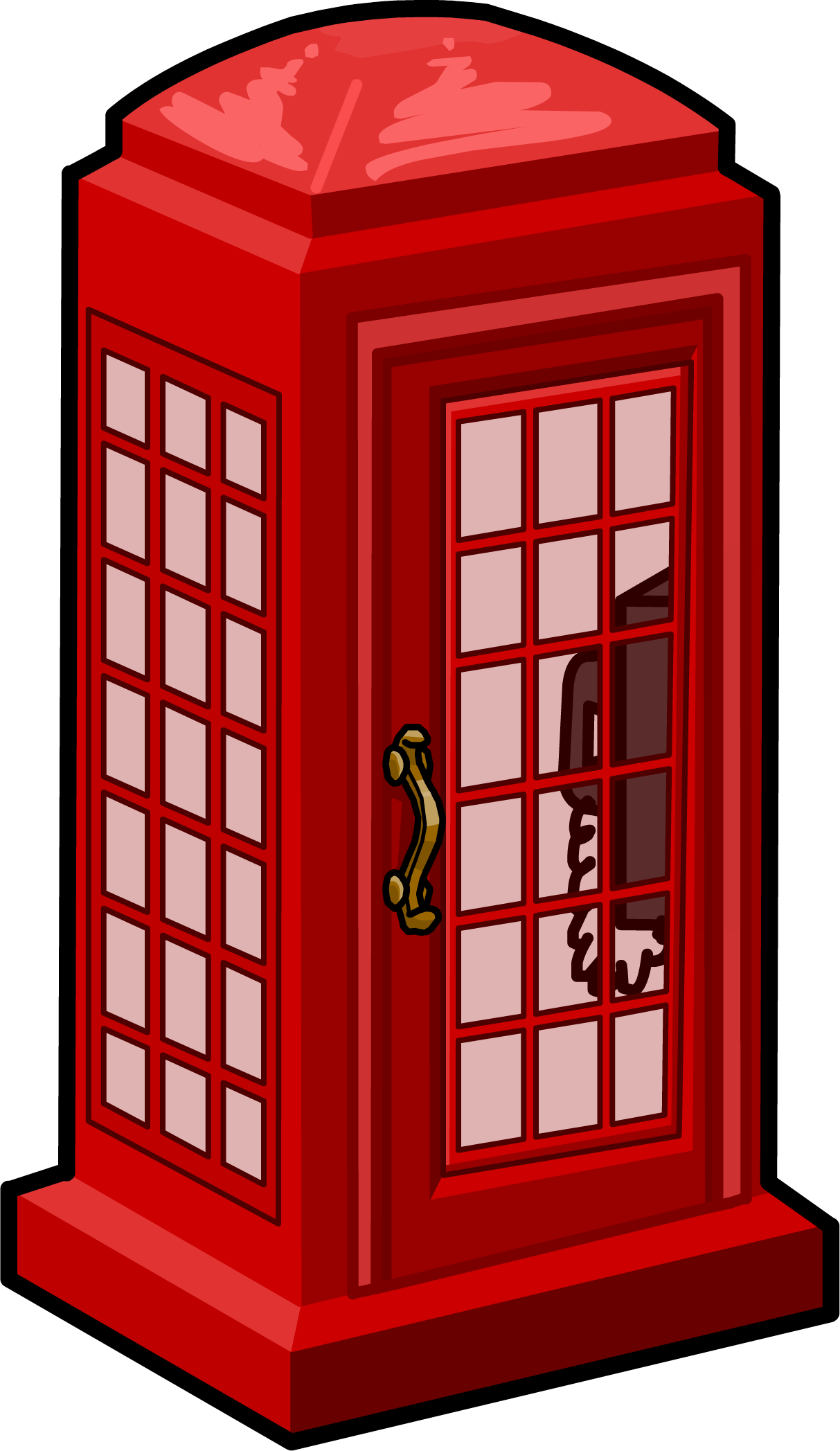 Phone Booth PNG Image