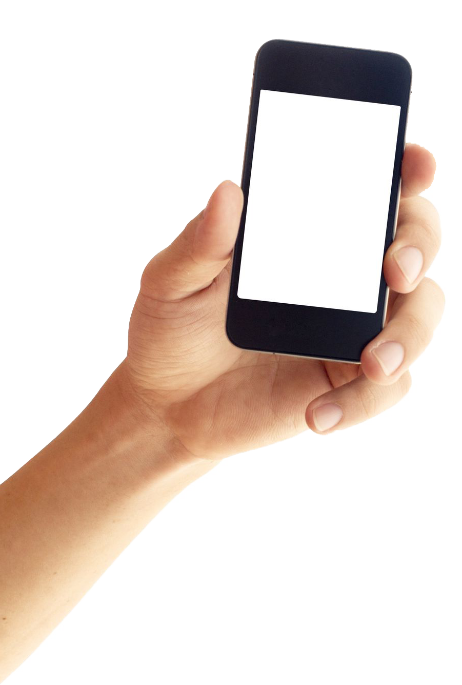 Phone In Hand PNG Image