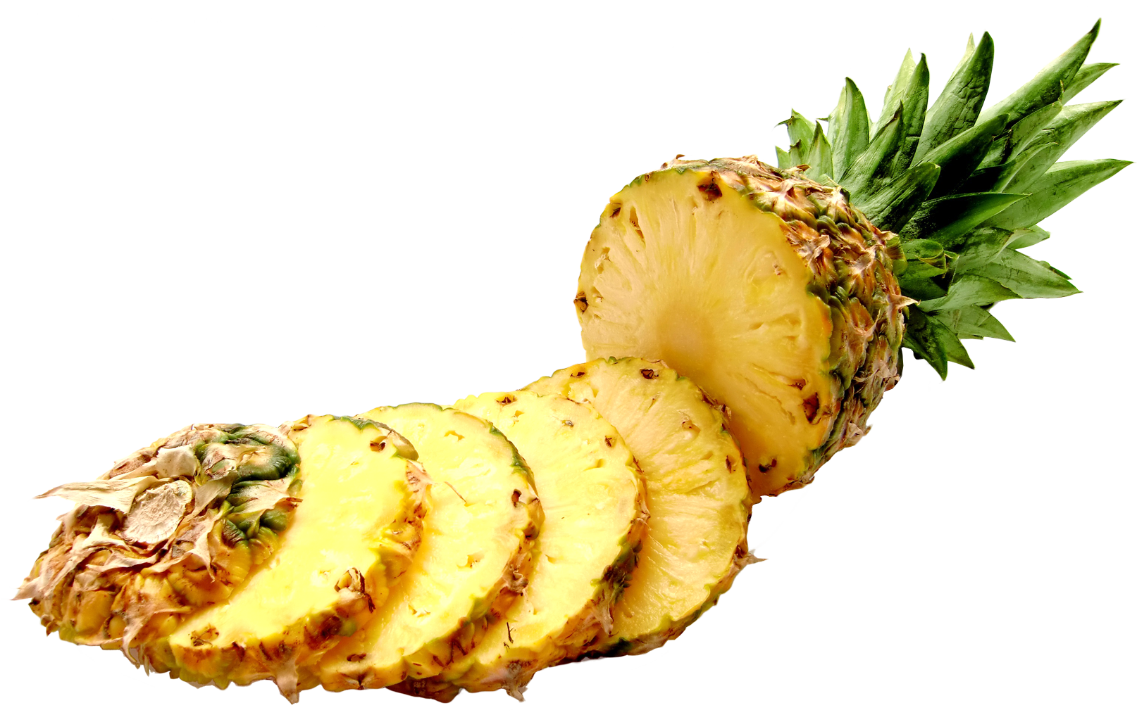 Pineapple  slices PNG Image