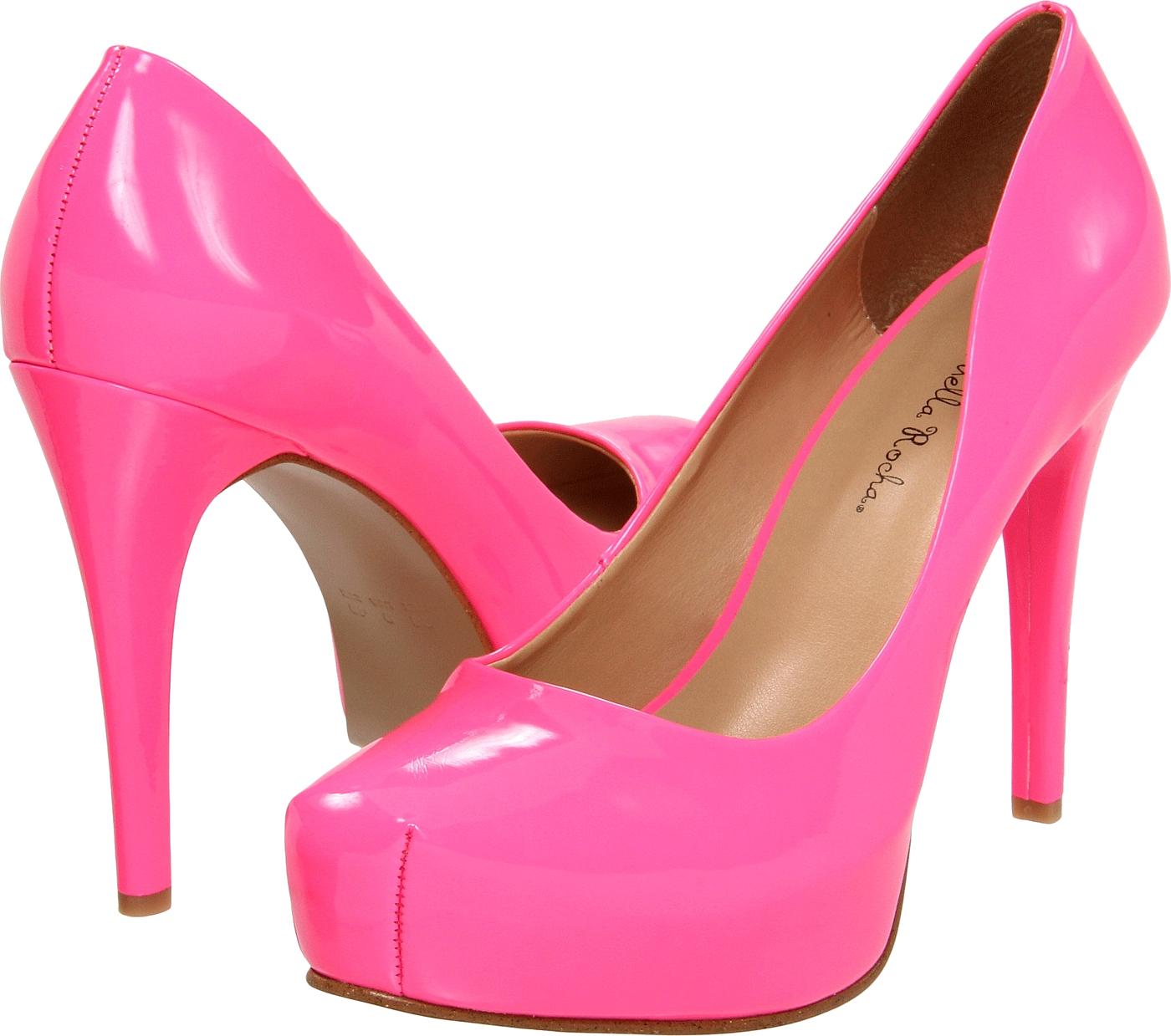 Pink Women Shoe PNG Image