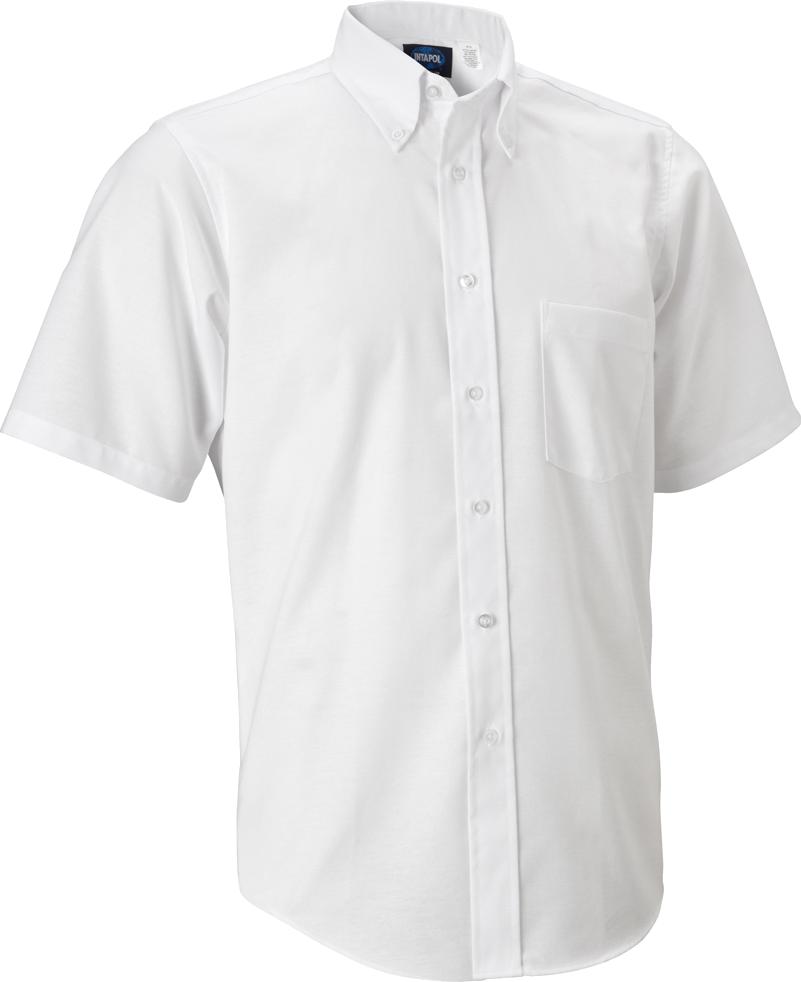 Plain White Half Shirts PNG Image