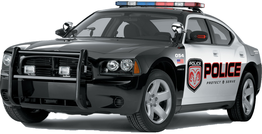 Police Car PNG Image