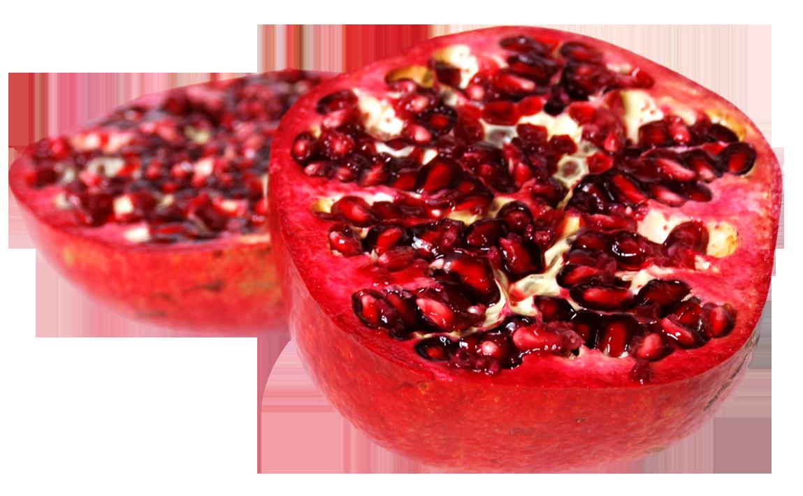 Pomegranate Sliced