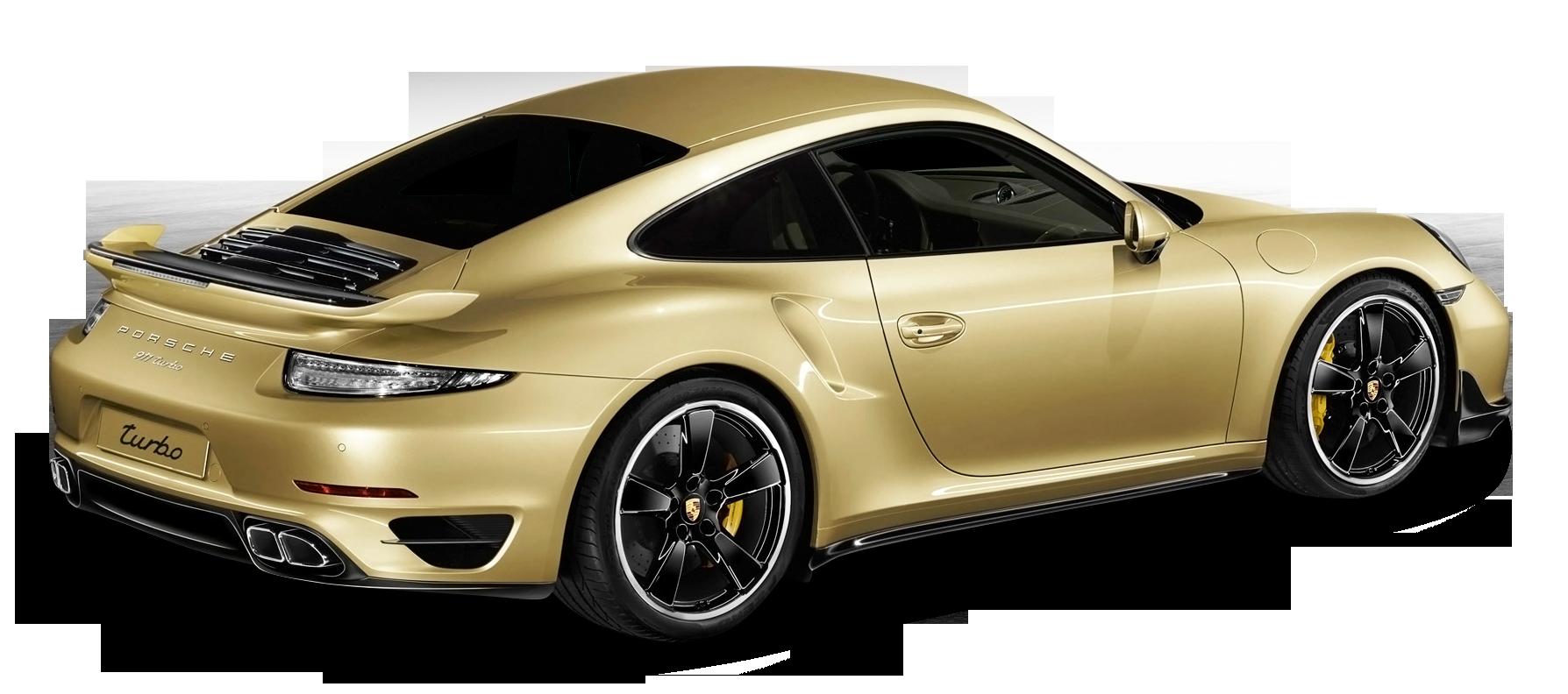 Porsche 911 Turbo Aerokit Gold Car
