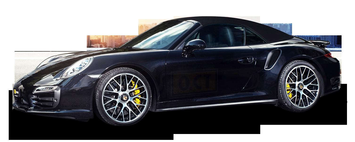 Porsche 911 Turbo Car PNG Image
