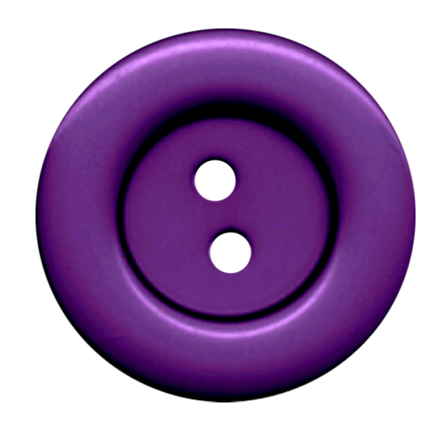 Purple Cloth Button With 2 Hole