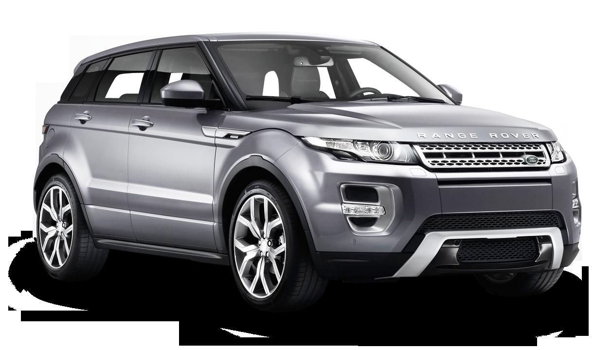 Range Rover Evoque Silver Car