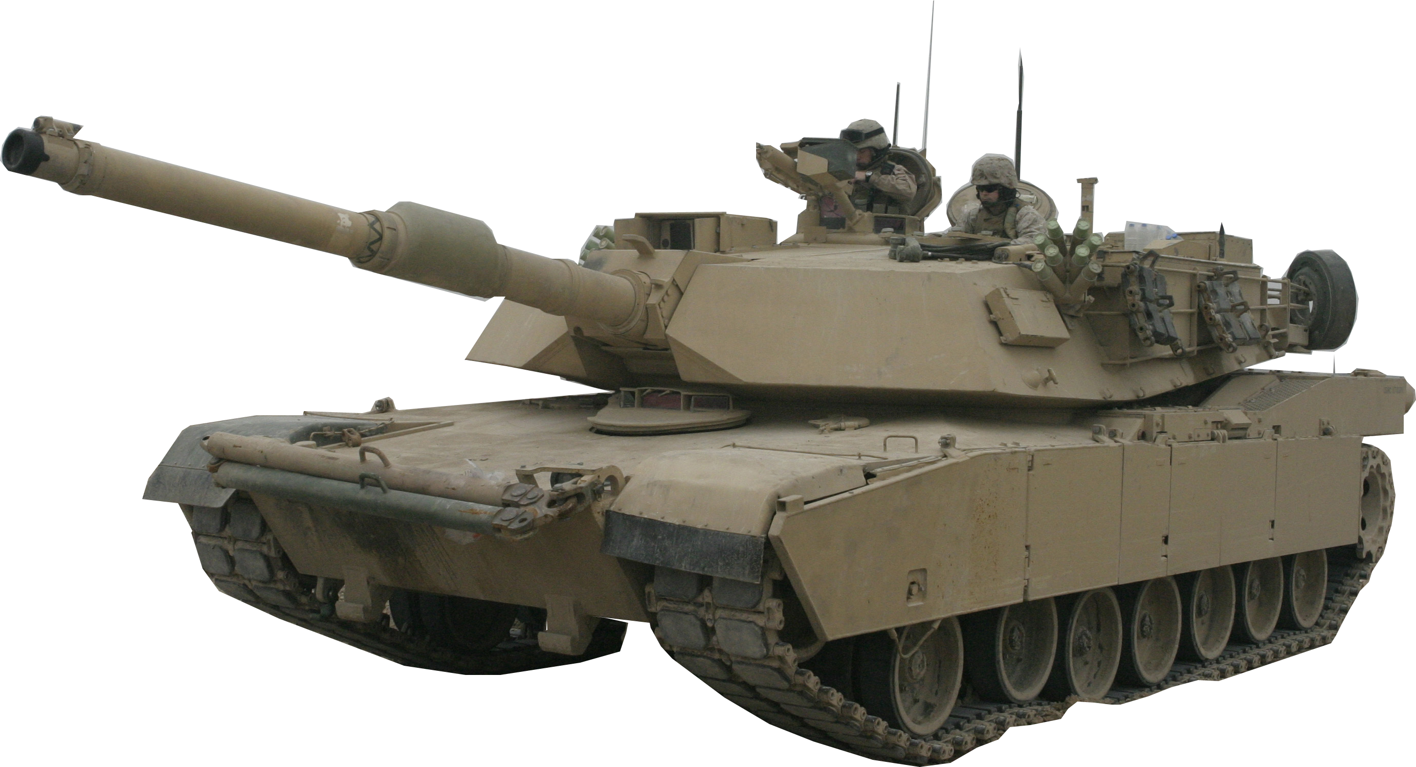 Real Army Tank PNG Image