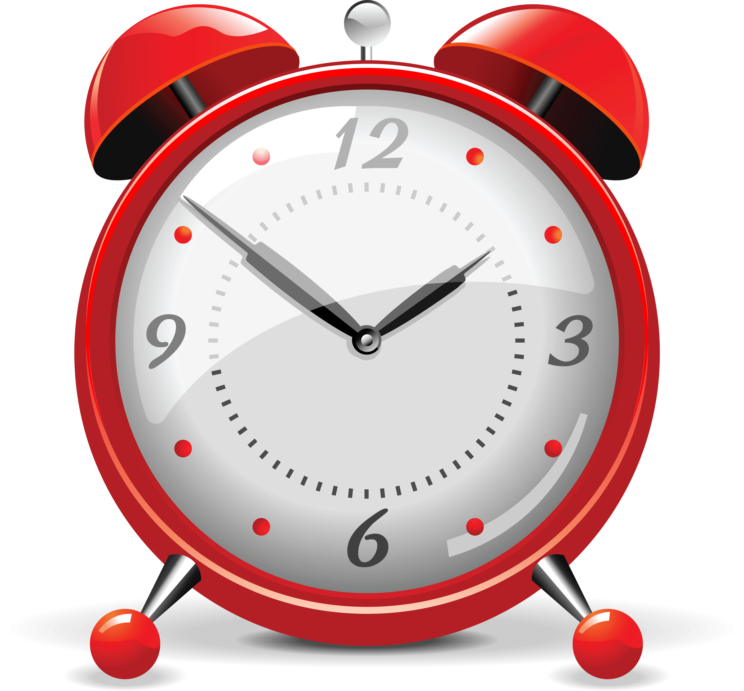 Red Alarm Clock PNG Image - PurePNG | Free transparent CC0