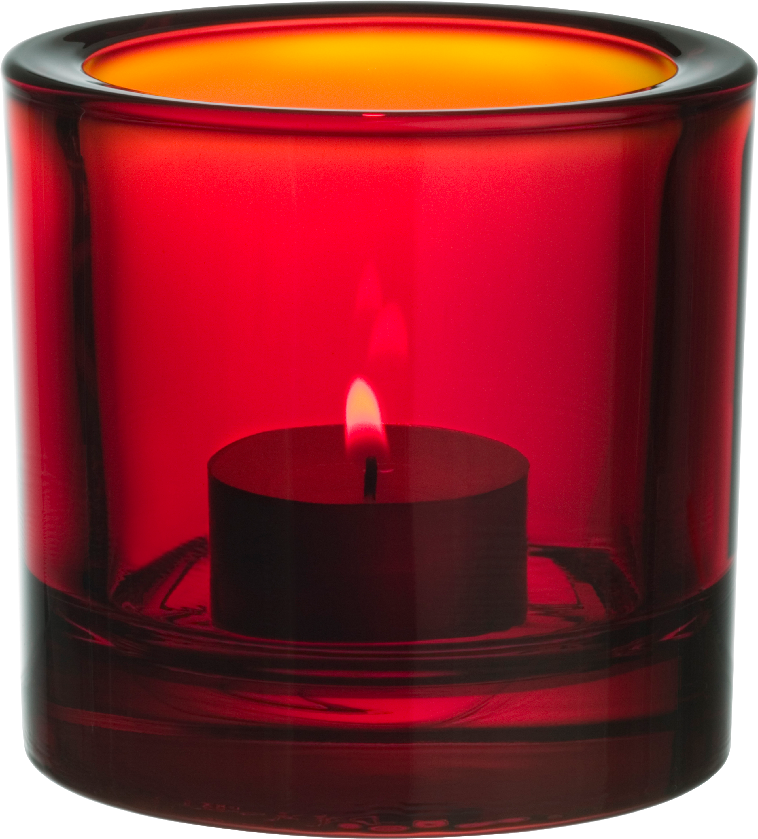 Red Candle PNG Image