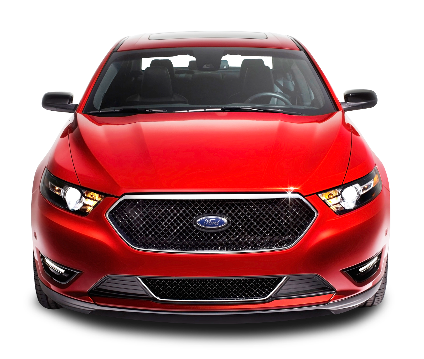 Red Ford Taurus Front Car Png Image Purepng Free