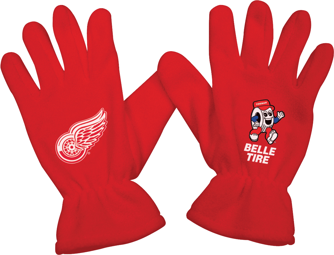 Red Gloves PNG Image