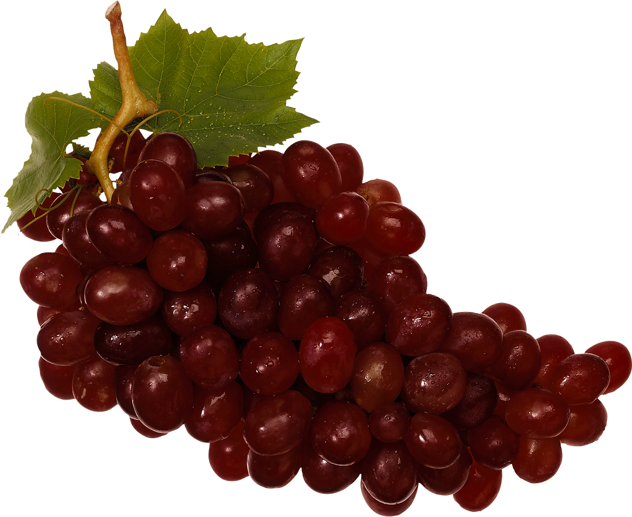 Red Grapes PNG Image