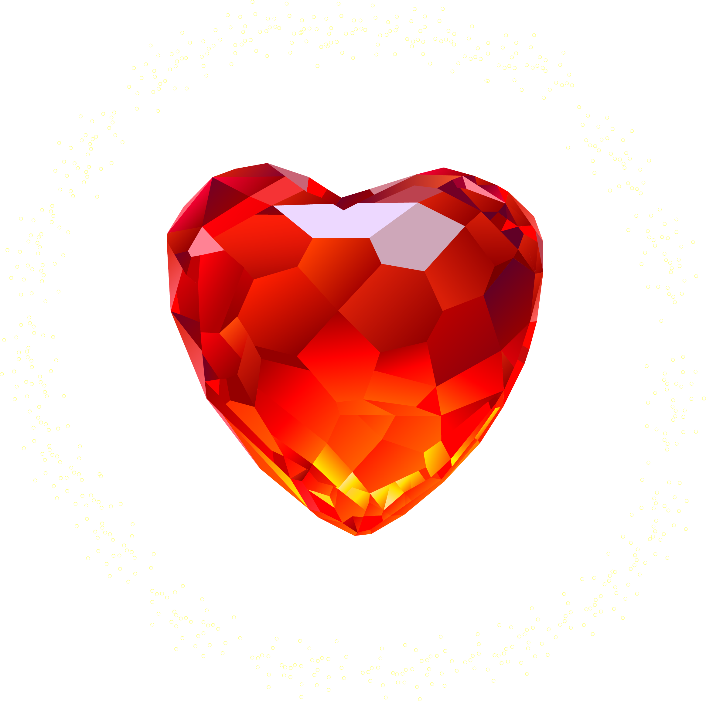 Red Heart Diamond
