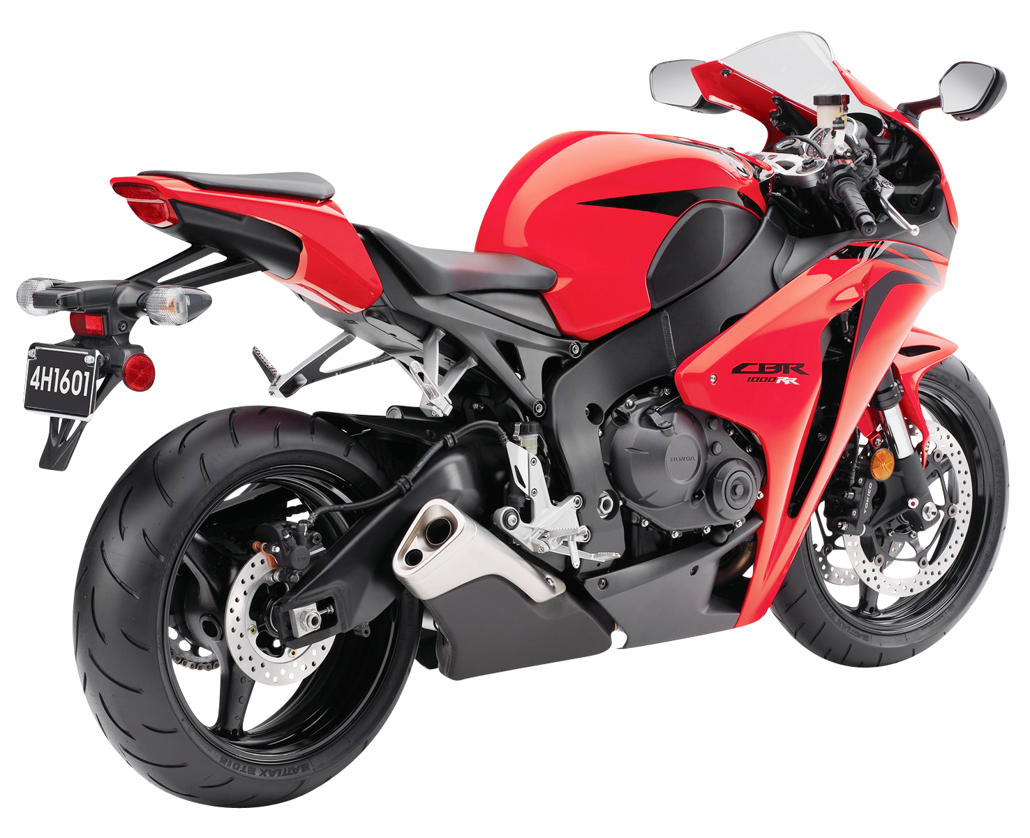 Red Honda CBR 1000RR PNG Image