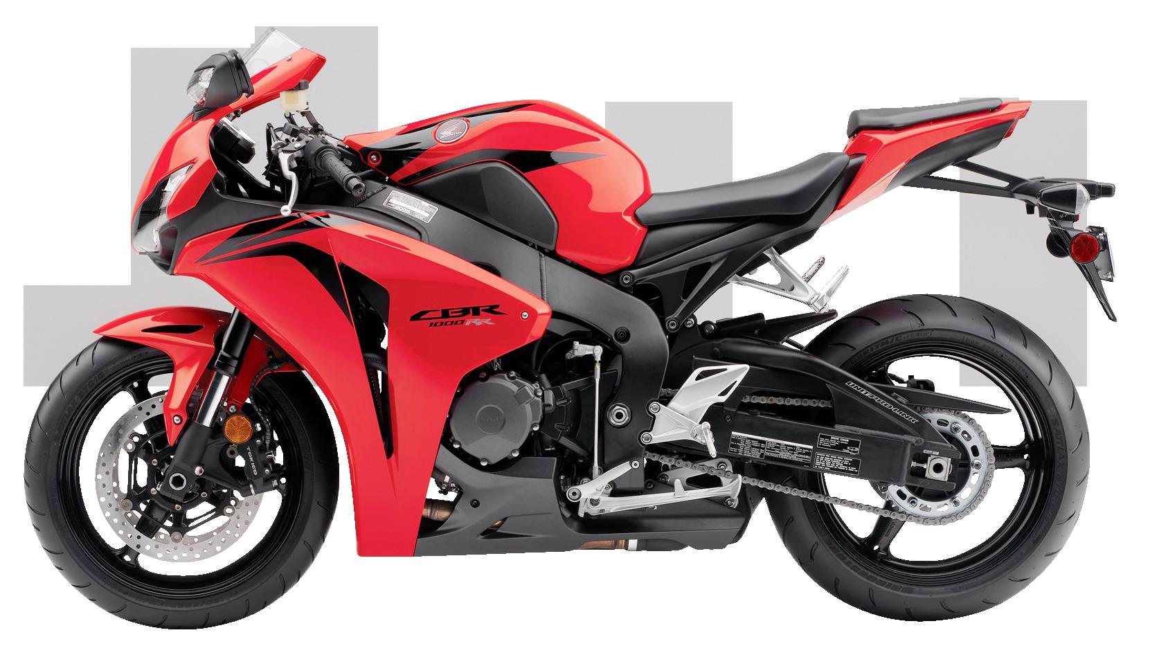Red Honda CBR1000RR PNG Image